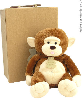 Histoire d'Ours Cuddly Monkey