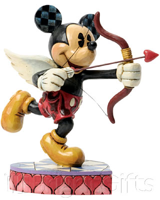 Disney Traditions Cupid Mickey Mouse Figurine