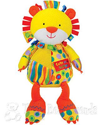 Rainbow Designs Cute As A Button Lion