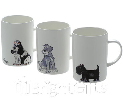 Roy Kirkham Cute Dog Mugs