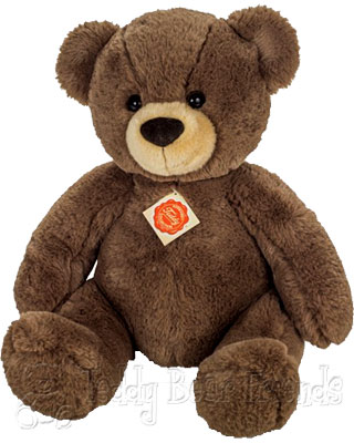 Teddy Hermann Dark Brown Bear