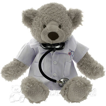 Doctor Teddy Bear gift