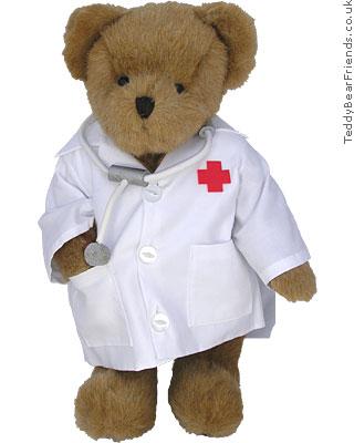Character Bears Doctor Teddy Bear