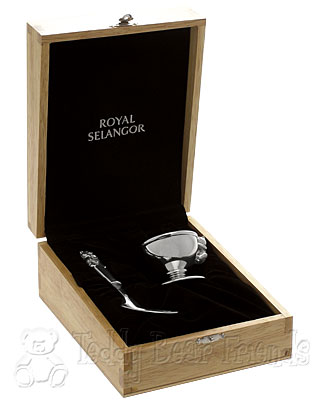 Royal Selangor Egg Cup and Spoon in Gift Box