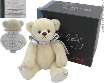 Gund Collectibles Elvis Teddy Bear Viva Las Vegas