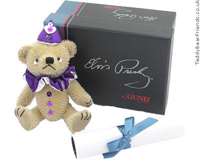 Gund Collectibles Elvis Love Me Tender Teddy Bear