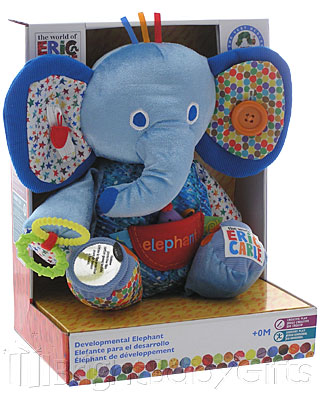 Rainbow Designs Eric Carle Large Development Elephant