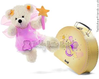 Steiff Fairy Bear in Suitcase