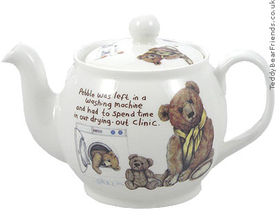 Roy Kirkham Lost Bears Small Teapot