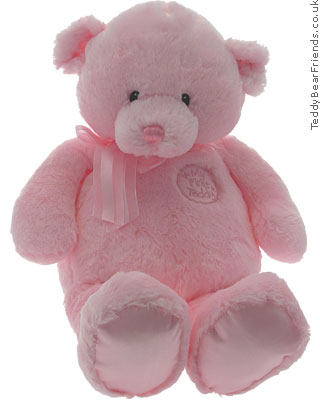 Baby Gund First Pink Teddy Bear