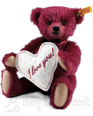 Steiff Florian Love Messenger Teddy Bear