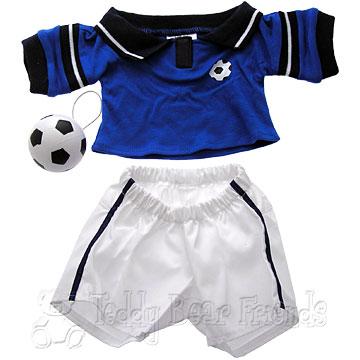 Teddy Bear Clothes Shop Football Outfit For Teddy Bear