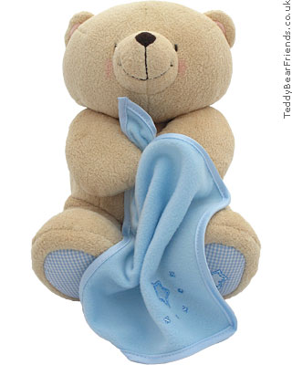 Rainbow Designs Forever Friends Teddy Bear With Blanket