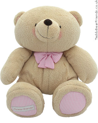 Rainbow Designs Forever Friends Pink Teddy Bear