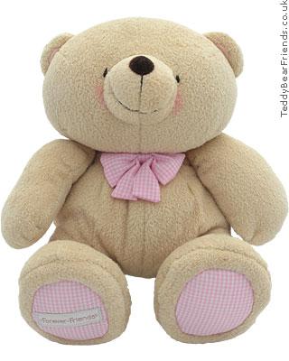 Rainbow Designs Forever Friends Pink Teddy Bear