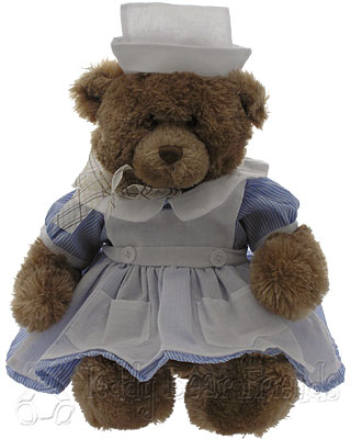 Teddy Bear Friends Exclusive Get Well Nurse Bear