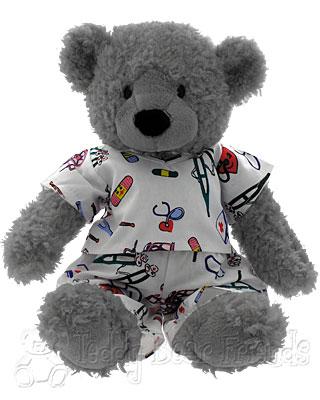 Teddy Bear Friends Exclusive Get Well Soon Teddy Bear in Pyjamas