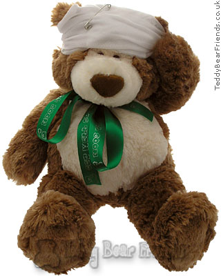 Teddy Bear Friends Exclusive Get Well Soon Teddy Bear