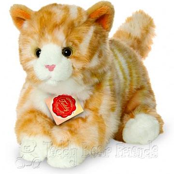 Teddy Hermann Ginger Kitten