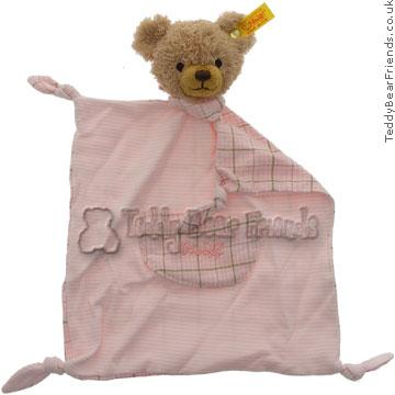 Steiff Baby Girls Sleep Well Bear Comforter