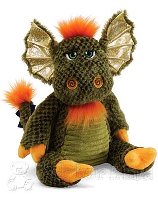 Gund Green Dragon Toy