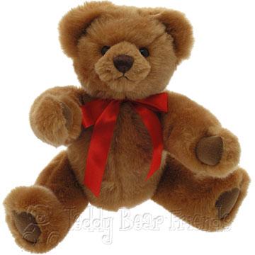 Clemens Spieltiere Growler Teddy Bear Dennis