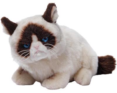 Gund Grumpy Cat Laying Down
