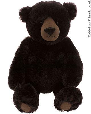 Gund Matisse Very Dark Brown Bear