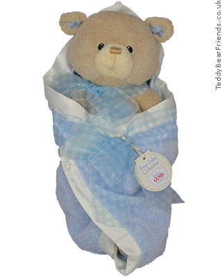 Baby Gund Bear Tales Boy Blanket Bear
