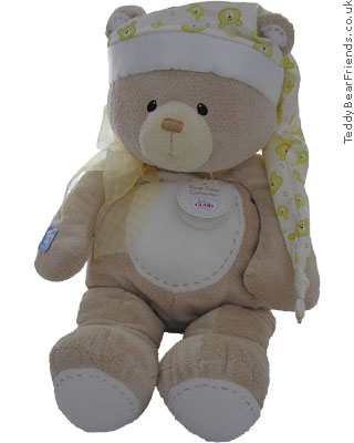 Baby Gund Bear Tales PJ Bear Bag Yellow