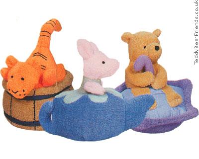 Baby Gund Winnie the Pooh bath floaters
