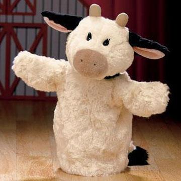 Gund Fluppet Milkshake Cow