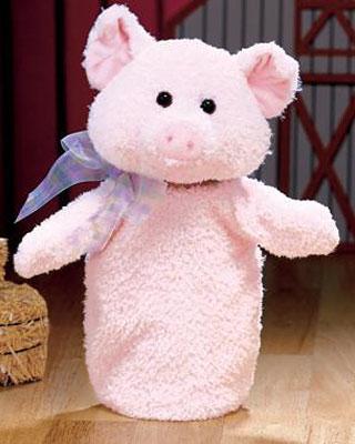 Gund Fluppet Piggsly Pig