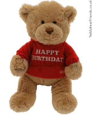 Gund Happy Birthday Message Bear
