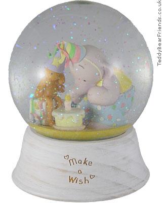 Michel and Company Humphreys Corner Make a Wish Snow Globe