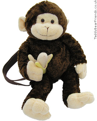 Gund Mambo Monkey Backpack