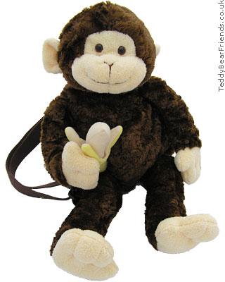Gund Mambo Monkey Backpack