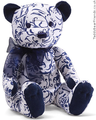 Gund Marabella Blue Paisley Bear