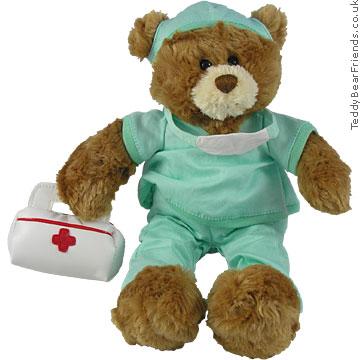 Gund Nurse B Well in scrubs