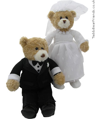 Gund Wedding Bride and Groom