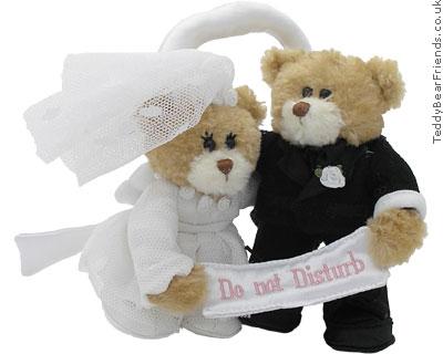 Gund Wedding Do Not Disturb