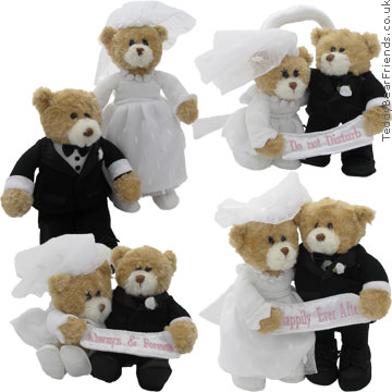 Gund Bride and Groom Always and Forever set