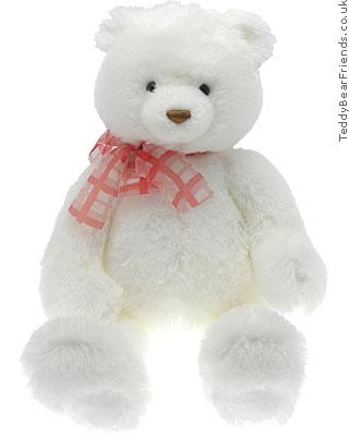 Gund White Valentine Bear