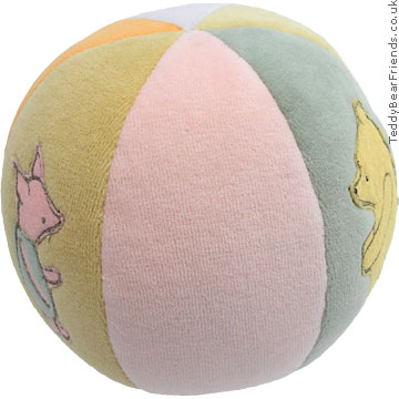 Gund Winnie the Pooh baby ball