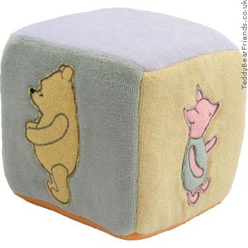 Gund Winnie the Pooh baby cube