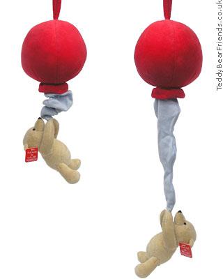 Gund Winnie the Pooh musical red balloon