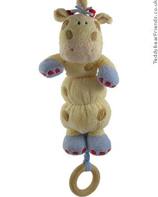 Baby Gund Woodles Gazoo Giraffe Musical