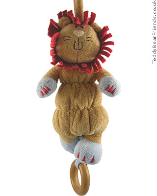 Baby Gund Woodles Rumba Lion Musical