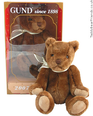 Gund Gundy 2007 Teddy Bear