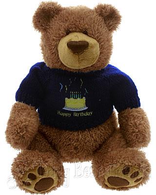 Teddy Bear Friends Exclusive Happy Birthday Teddy